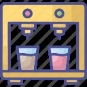 coffee maker, kitchen equipment, kitchenware, tea machine, tea maker icon