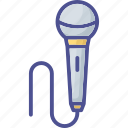 input device, media, mic, microphone, output device icon