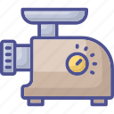 electronic device, kitchen appliance, meat grinder, meat mincer, mincer icon