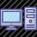 computer accessory, desktop computer, display screen, led, monitor icon