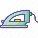 electric iron, home appliance, iron, presser, steam iron