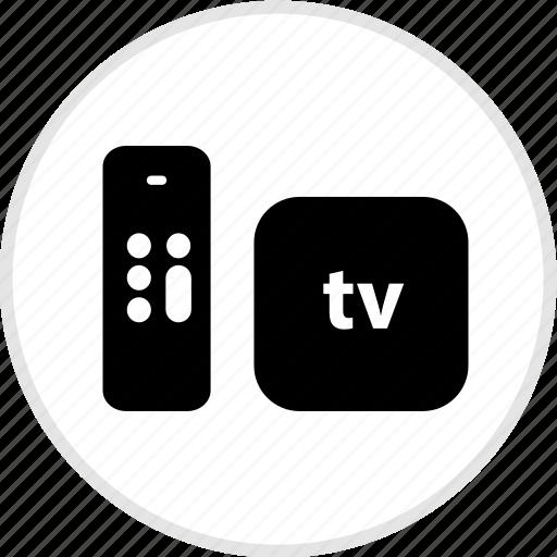 apple, electronics, gadget, tech, tv icon