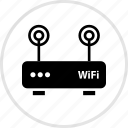 antenna, double, electronics, gadget, tech icon