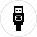 electronics, gadget, hdmi, tech icon