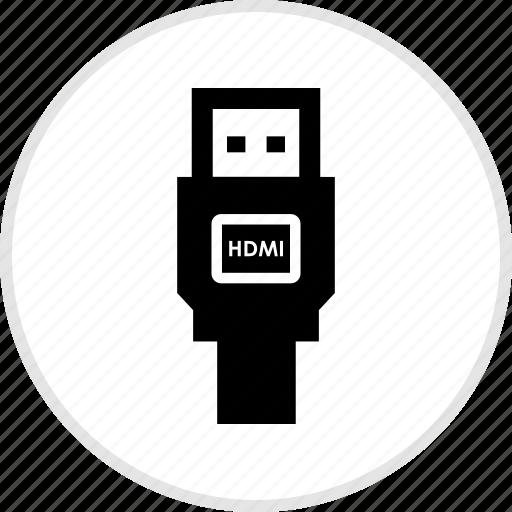 electronics, gadget, hdmi, tech icon