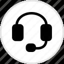 electronics, gadget, headphone, tech icon