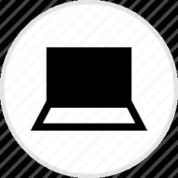 electronics, gadget, laptop, tech icon