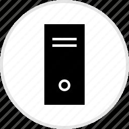 electronics, gadget, pc, tech, tower icon