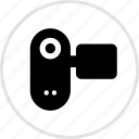 electronics, gadget, recorder, tech icon