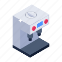 coffee dispenser, coffee maker, kitchen utensil, electronic appliance, coffee machine icon