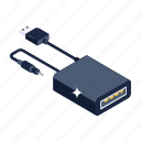 portable cable, cable cord, usb cable, data cable, usb cord icon