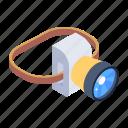 headtorch, headlamp, flashlight, electric light, lamp icon