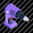drill, dig machine, drill machine, drilling, power drill icon