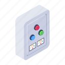 changeover, breaker control buttons, breaker panel, on off buttons, circuit breaker buttons icon