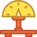 airport scale, check in, industrial scale, luggage scale, weight scale icon