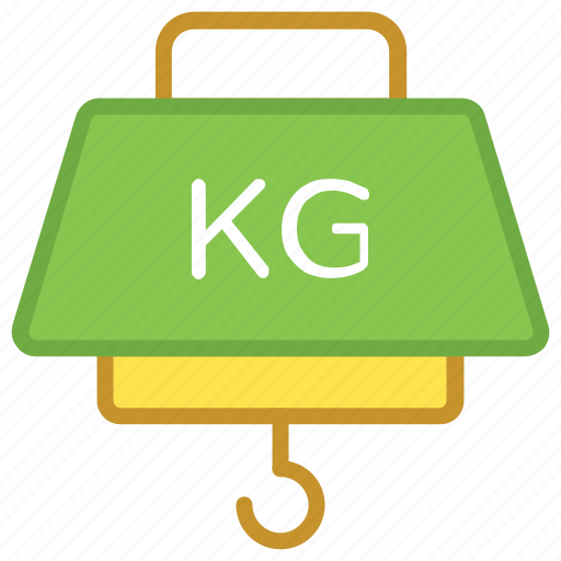 digital machine, electronic scale, hanging scale, measuring material, weighing scale icon