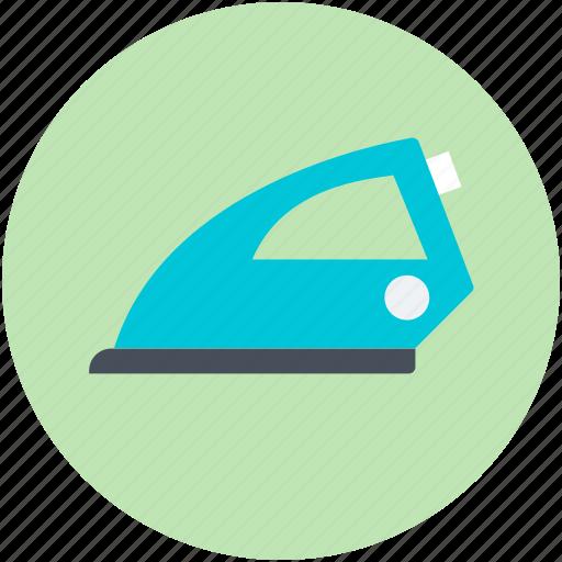 electric iron, electronics, home appliance, iron, laundry icon