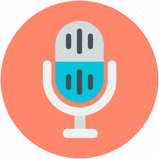 Mic, microphone, radio mic, recording, speak icon - Download on Iconfinder