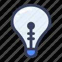 bulb, electronics, idea, lamp, light