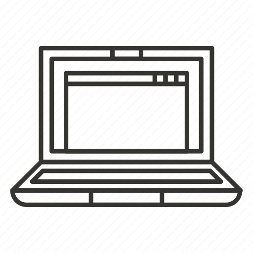 Computer, laptop, notebook, pc, screen icon - Download on Iconfinder