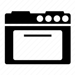 appliance, cook, cooking, food, kitchen, oven, stove icon