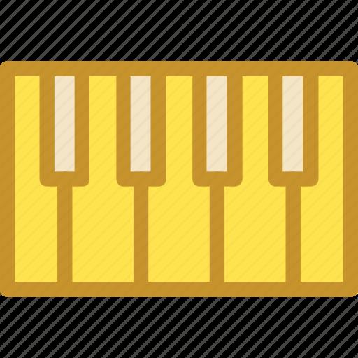 electronic piano, musical keyboard, musical keys, piano keyboard, piano keys icon