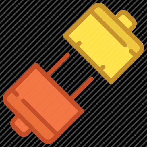 electrical, plug, plug connector, power plug, power supply icon