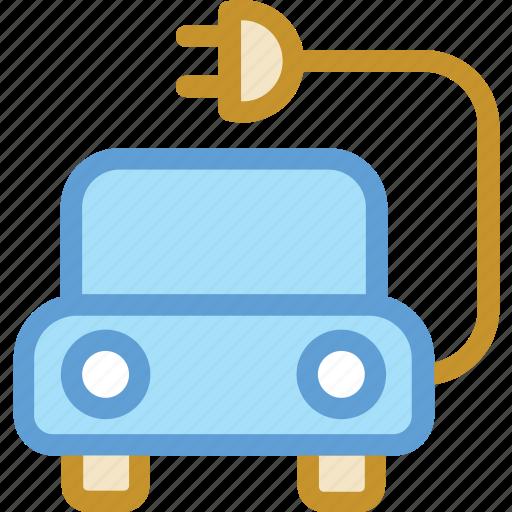 car charging, eco car, electric car, hybrid car, power supply icon