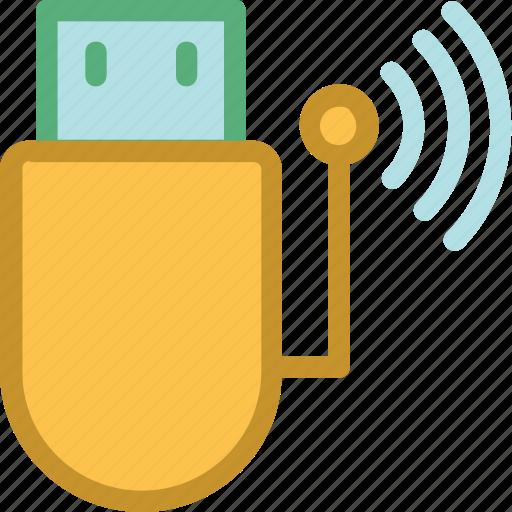 internet dongle, usb, usb adapter, usb modem, wifi usb icon