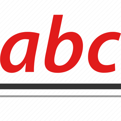 abc, educated, elearning, learn icon