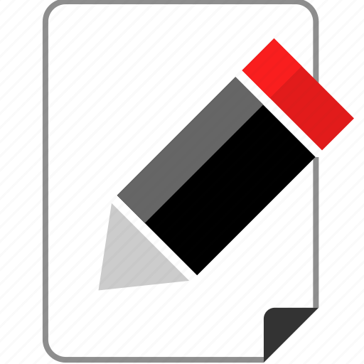 education, jot, note, page icon