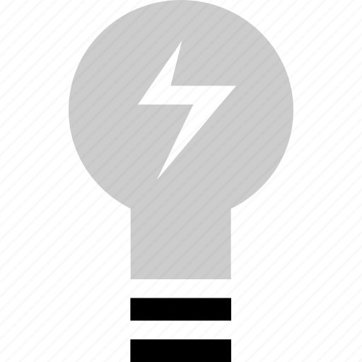 bulb, energy, ligh, power icon