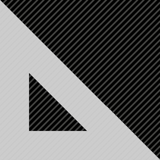 angle, measure, ruler icon