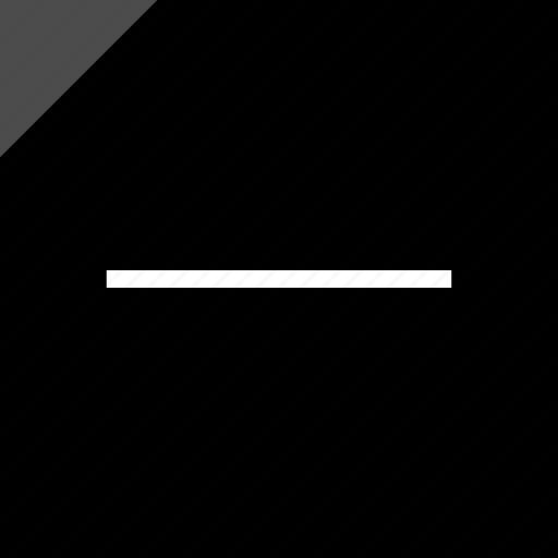 line, negative, neutral icon