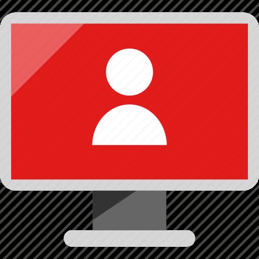 mac, pc, user icon
