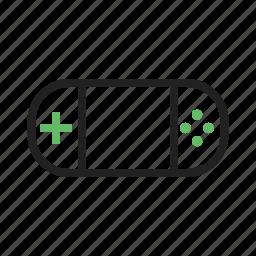 fun, game, play, radio, screen, station, video icon
