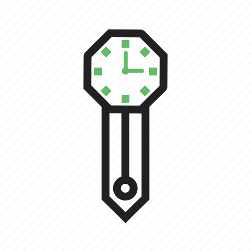 antique, clock, hour, time, wall, watch, working icon