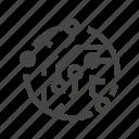 cpu, microchip, processo icon