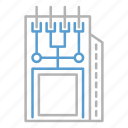circuit, module, technology icon