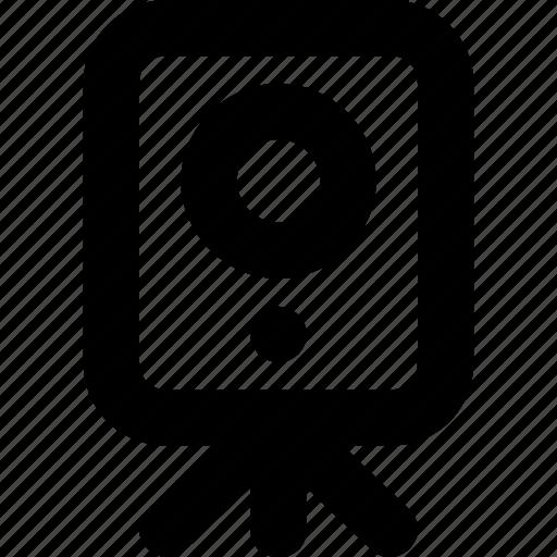 electronics, music, speaker, subwoofer, woofer icon