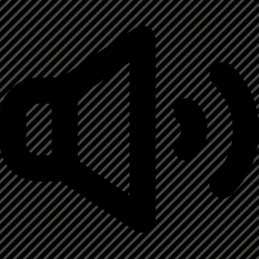 Audio, loud, sound, speaker, volume icon - Download on Iconfinder