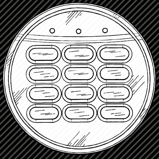 access, control, enter, keypad icon