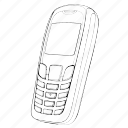 electronics, mobile, phone, telephone icon