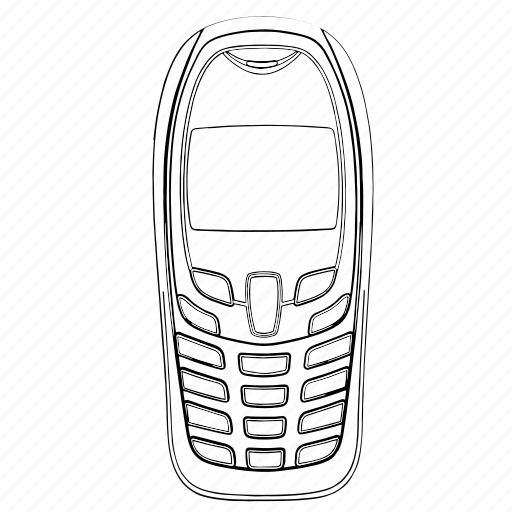Electronics, mobile, phone, telephone icon - Download on Iconfinder
