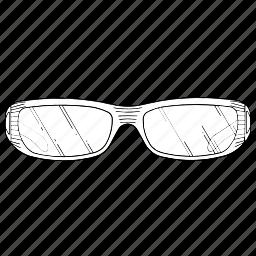 electronics, glasses, virtual, vision icon