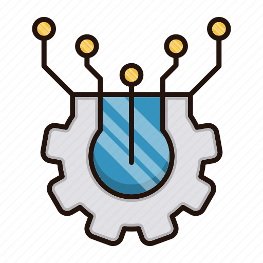 Circuit, electronics, elements, processor icon - Download on Iconfinder