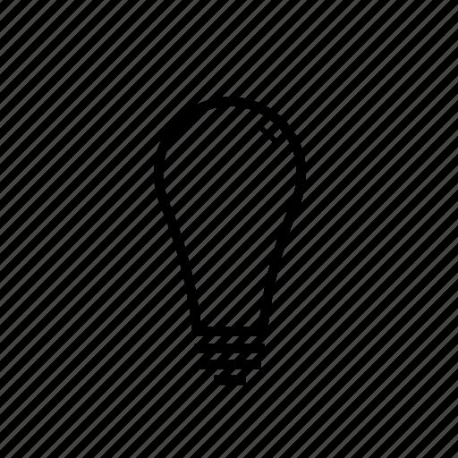 electronics, idea, lamp, lightbulb, power icon