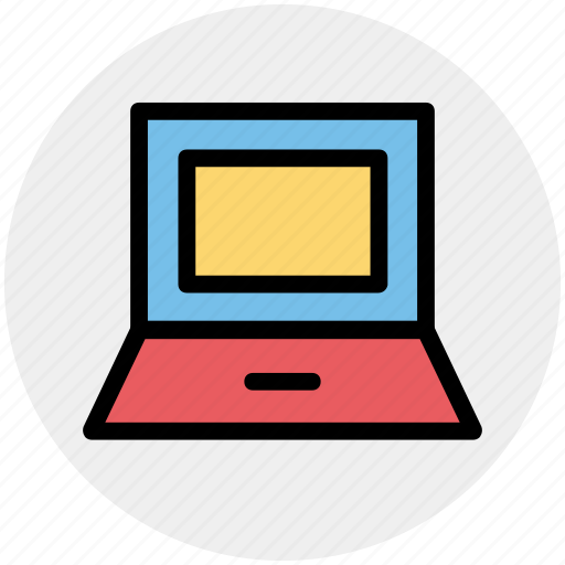computer, electronics, laptop, macbook, notebook icon