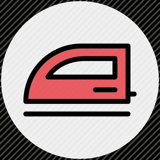 appliance, electric, electronics, iron, laundry icon