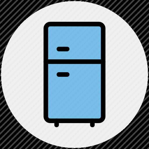 Electronics, freezer, fridge, household appliance, refrigerator icon - Download on Iconfinder